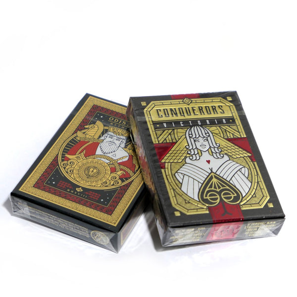 Him & Her Playing Cards Mythica & Victoria Limited Editions 2-Deck Set