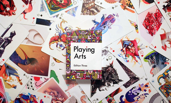 Playing Arts Edition Three Playing Cards Deck Designed by 55 Global Artists