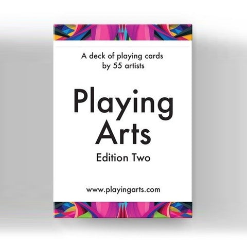 Playing Arts Edition Two Playing Cards Deck Designed by 55 Global Artists