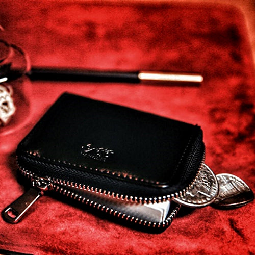 Playing Card Real Leather Case with Zipper Premium Accessory by TCC