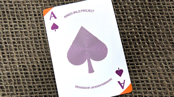 Plum Pi Playing Cards by Kings Wild Project Cardistry Deck