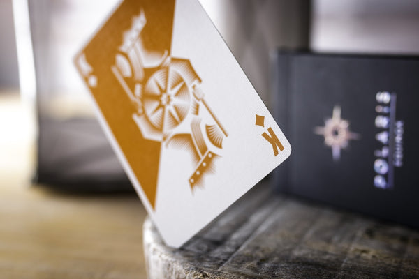 Polaris Equinox Playing Cards Dark Edition by Vanda