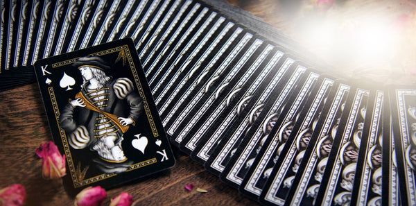 Ponderings Playing Cards Rare Embossed case Apothecary Edition