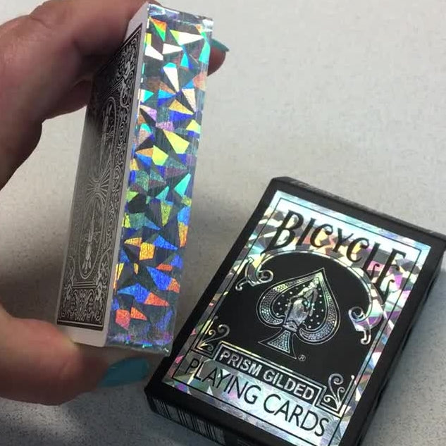 Prism Gilded Playing Cards Limited Edition Bicycle Rare Deck