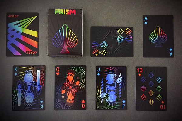PRISM Playing Cards Night Edition Rainbow Colours Deck