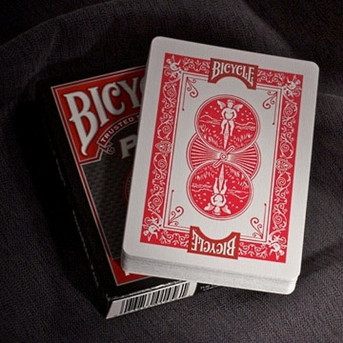 Pro Peek Poker Playing Cards Deck Bicycle Professional Red