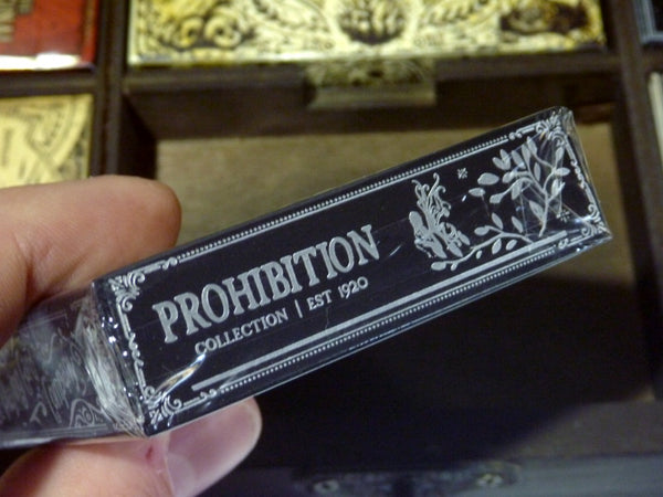 Prohibition Playing Cards Boxset Rare V1 Ellusionist 1st Editions 6-Decks