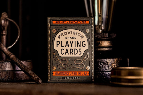 Provision Playing Cards Luxury New Release by Theory 11