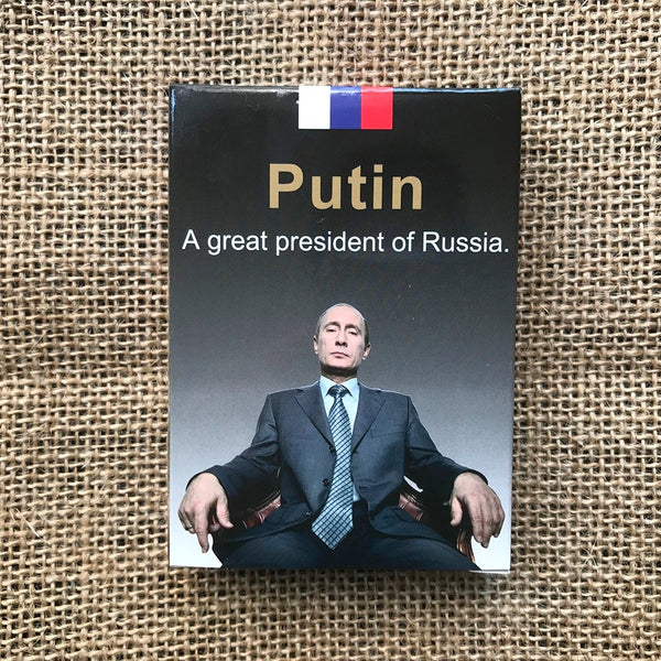 Putin Playing Cards Russia Vladimir Putin Russian President Poker deck