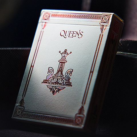 Queens Playing Cards Deck sleek slipstream finish