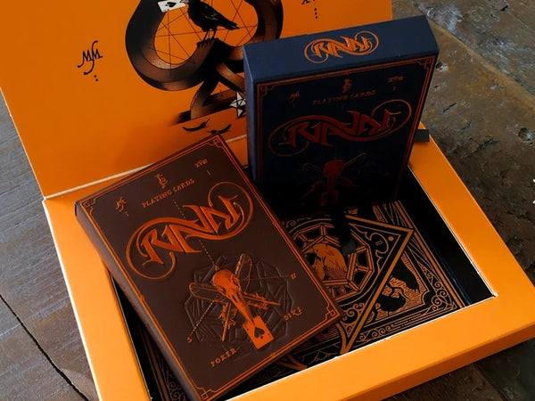 RAVN Playing Cards Sol Mani Editions Collectors Boxset 2-Deck Case