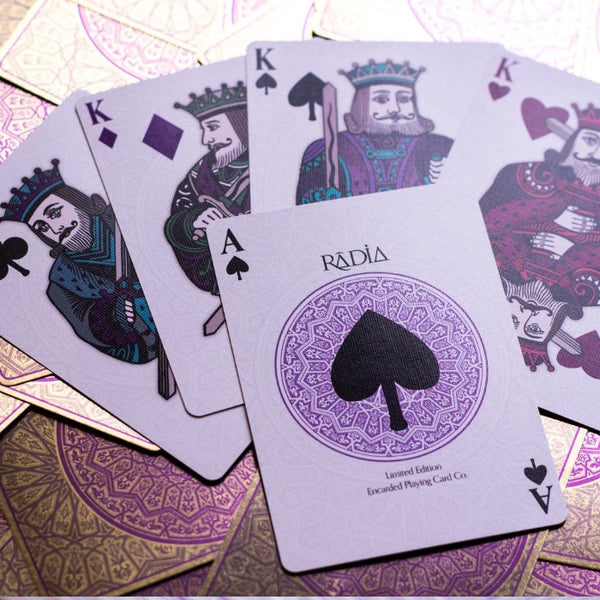 Radia Playing Cards Luxury Rare Limited Edition by Encarded