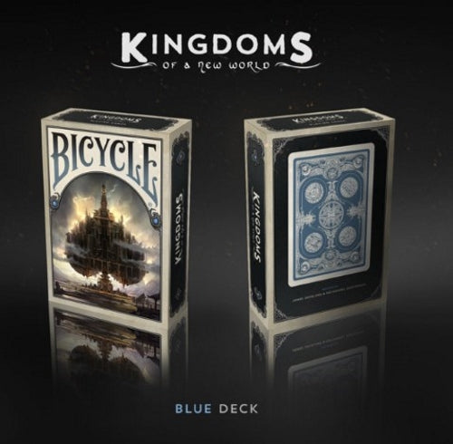 Kingdoms of a New World Playing Cards Blue Edition Rare deck