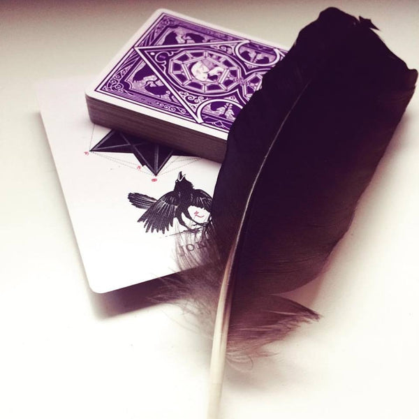 RAVN Purple Haze Playing Cards Rare Collectors Set +1 Mini Deck