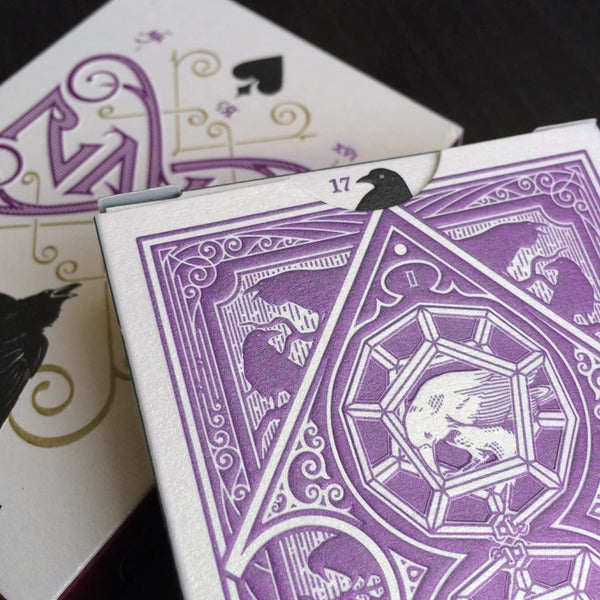 RAVN Playing Cards Purple Haze edition Magician Magic Deck
