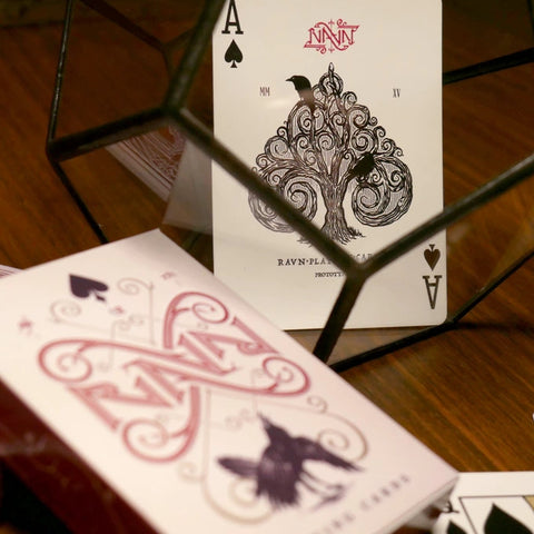 Ravn Red Playing Cards Deck Stockholm 17 by Caroline Ravn Brand New & Sealed