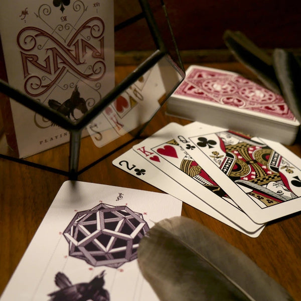 Buyworthy:Ravn Red Playing Cards Deck Stockholm 17 by Caroline Ravn Brand New & Sealed