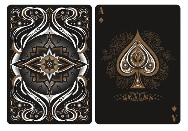 Realms Playing Cards Collection by Card Experiment 3 Decks