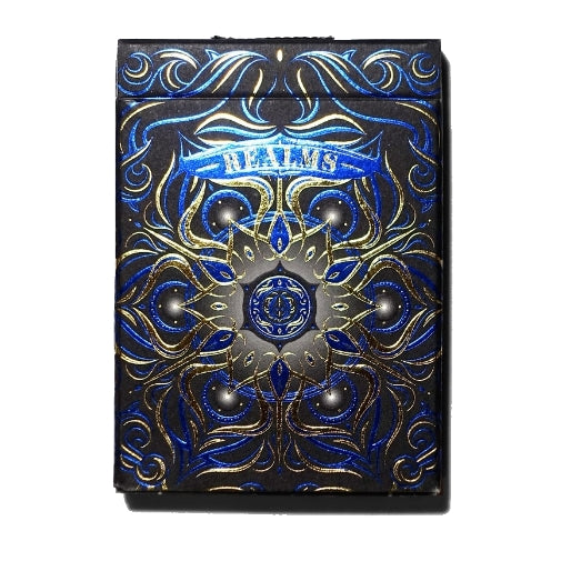 Realms Playing Cards Blue Edition by Card Experiment
