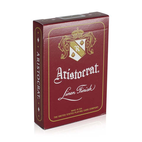 Aristocrat Red Edition Playing Cards Deck Poker Premium