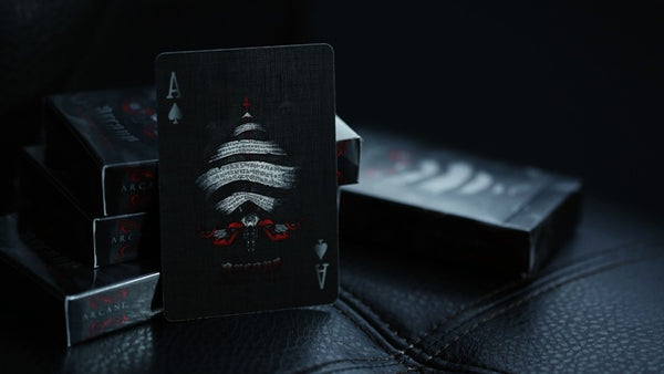 Red Arcane Playing Cards Very Rare Edition by Ellusionist