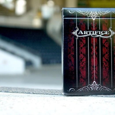 ARTIFICE Red Playing Cards Very Rare 1st Edition Deck Ellusionist Brand New