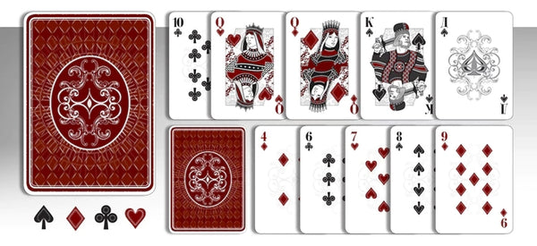 Red Bar Playing Cards Rare Limited Edition Black Market Deck