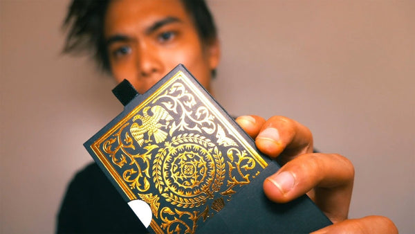 Regalia Playing Cards Luxury Limited Edition Gold Foiled by Shin Lim