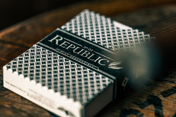 Republic No 3 Playing Cards Artists Edition by Jeremy Griffith