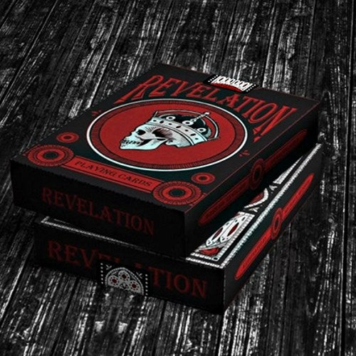 Revelation Playing Cards Deck Medieval Cathedral Gothic Catacombs