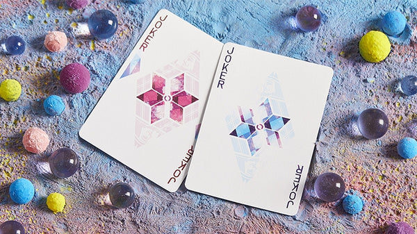 Rhombus Space Playing Cards by BOCOPO made in USA