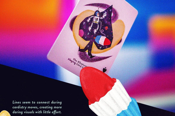 Rockets Playing Cards by Ellusionist Magic Deck Retro is back