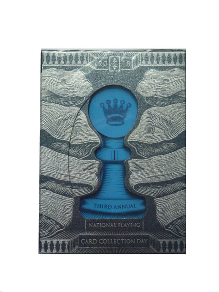 Rook NPCCD 2018 National Playing Card Collection Day Rare Silver Deck