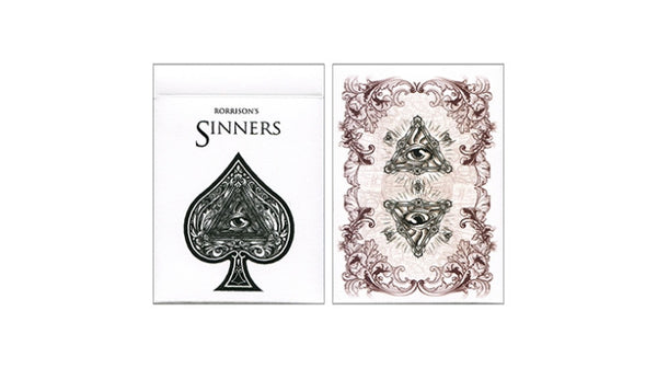 Buyworthy:Rorrison's Sinners Playing Card Deck by Enigma Brand New & Sealed Made in USA