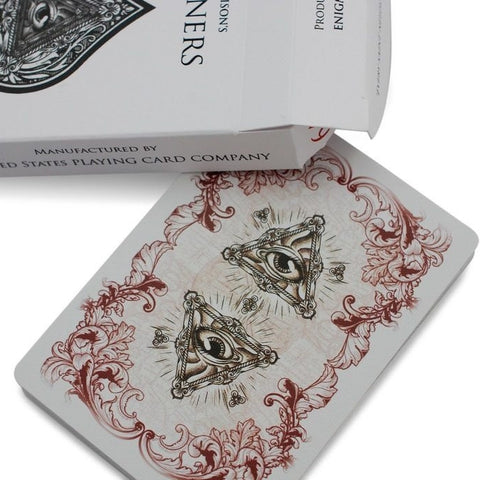 Rorrison's Sinners Playing Card Deck by Enigma Brand New & Sealed Made in USA