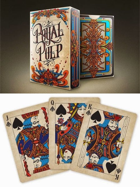 Royal Pulp Red Playing Cards Deck Poker Magic Royalty