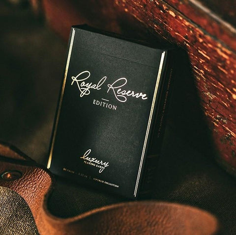 Black Royal Reserve Private Edition Playing Cards Luxury Deck Jeremy Griffith
