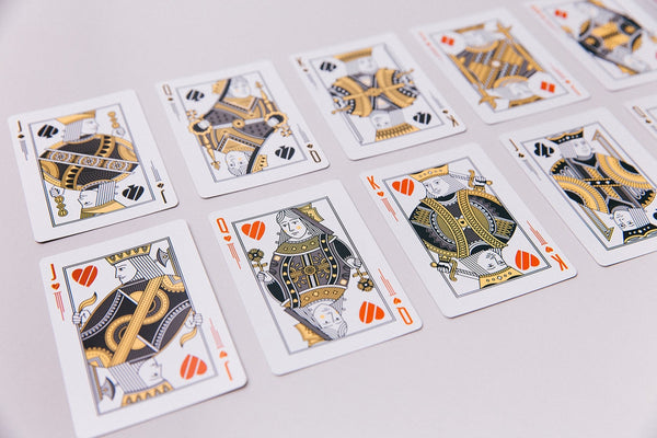 Run Playing Cards Gold Edition Deck Poker Magic 2 Gaff Cards