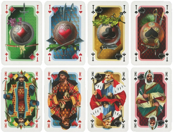 Russian Playing Cards Artwork by A. Balandin Vintage Rare deck printed in 2009