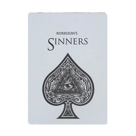 Rorrison's Sinners Playing Card Deck by Enigma Made in USA