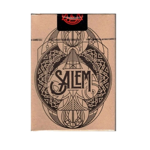 Salem Playing Cards Witch Trials Edition Printed by Expert Playing Card Co.
