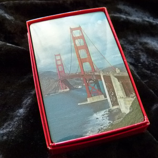San Francisco Vintage USA Playing Cards Mint Sealed Condition