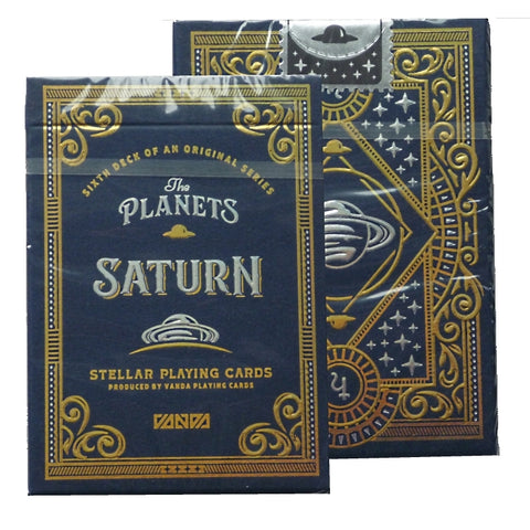 The Planets Saturn Playing Cards Limited Edition Very Rare by Vanda