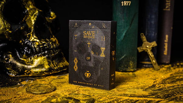 Save Playing Cards Evil & Justice Revenge by BOCOPO