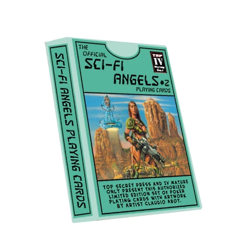 Sci-Fi Angels Playing Cards 2nd Edition by Top Secret Press