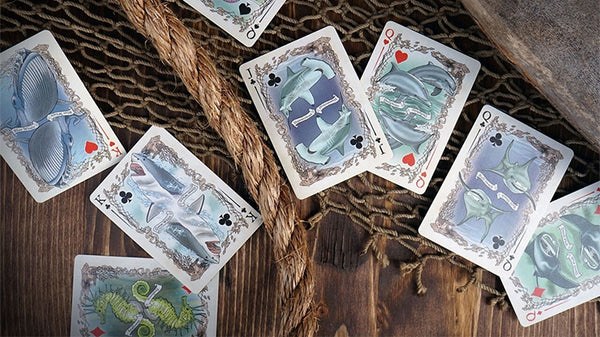 Sea Creatures Playing Cards Limited Colour Edition Deck