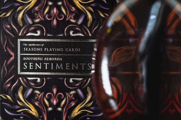 Seronda Sentiments Playing Cards Seasons Apothecary v2 Rare Black Label