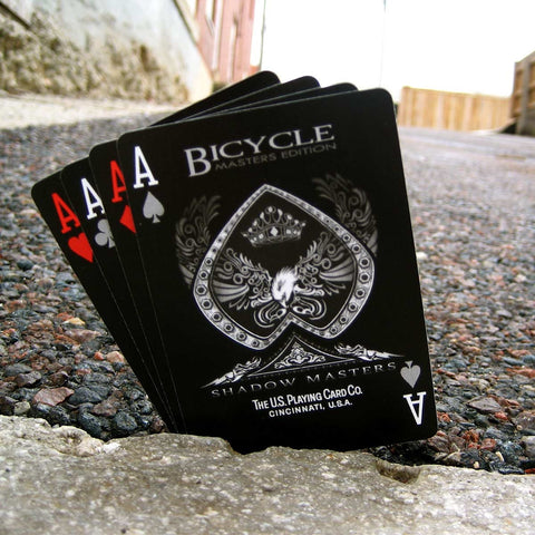 Buyworthy:Shadow Masters Playing Cards Ellusionist Bicycle Premium Deck Brand New & Sealed