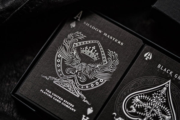 Shadow Masters Playing Cards Legacy Edition Ellusionist Premium Deck