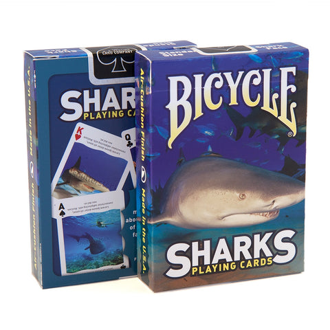 Buyworthy:Sharks Playing Cards Explore the Facts Deck Brand New & Sealed Made in USA